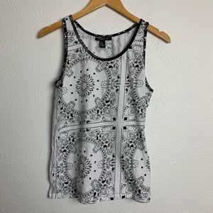 Forever 21 Men's Paisly Tank Top